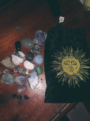 Spiritual stones and bag, have been blessed for Sale in Wichita, KS