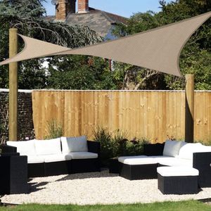 10' x 10' Beige Sun Shade Sail (New) for Sale in Grayslake, IL