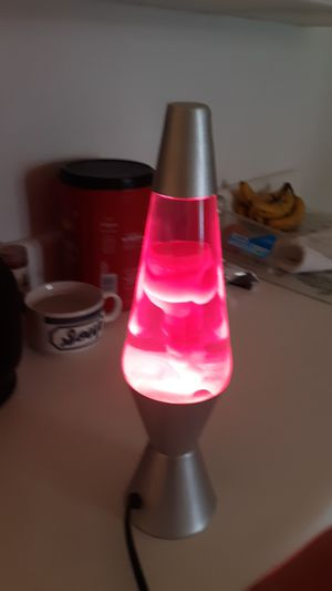 Pink lava lamp for Sale in Port St. Lucie, FL