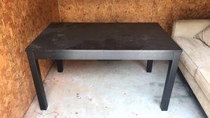 IKEA Table/ large desk black for Sale in Woodstock, GA