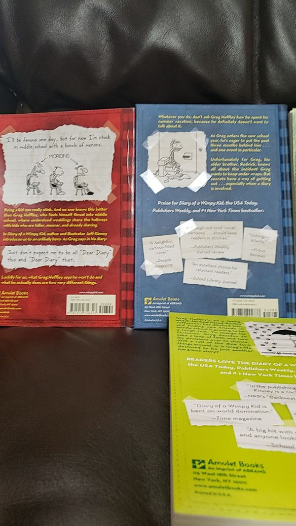 Diary of a wimpy kid 1-11