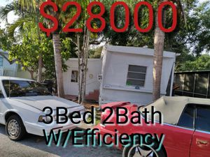 Mobile home for sale for Sale in HALNDLE BCH, FL