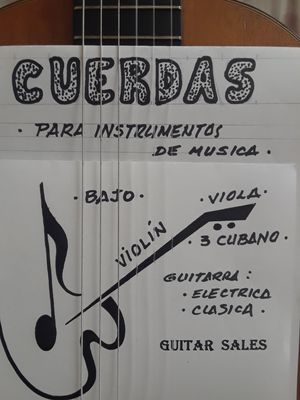 CUERDAS D GUITARRA, VIOLIN, BAJO.... for Sale in Doral, FL