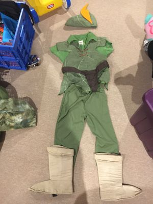 Peter Pan costume from Disney store toddler size 4 for Sale in Westerville, OH