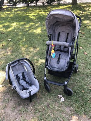 Urbini car seat and stroller and base for Sale in Greece, NY