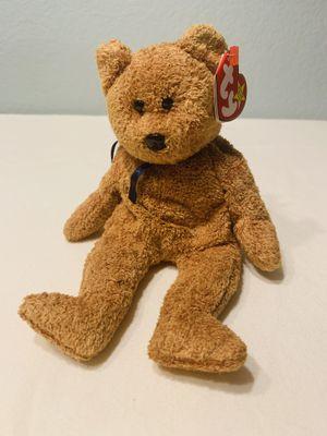 """""""Fuzz"""" Bear TY Beanie Baby 1998 Retired for Sale in Austin, TX"""