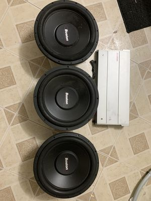 3 Boston acoustic 12s for Sale in Brooklyn, OH