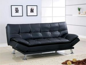 Futon sofa bed with adjustable arms ( new ) for Sale in Hayward, CA