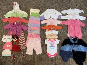 Baby girl clothes Newborn for Sale in Salt Lake City, UT