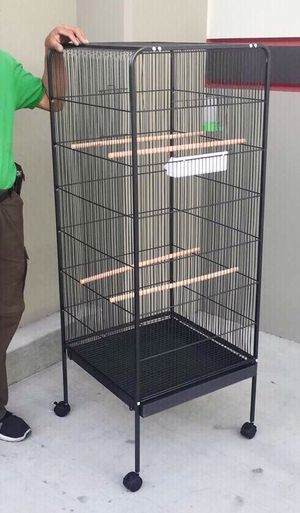 New in box 58 inches tall parakeet parrot bird cage with easy cleaning removable tray for Sale in Whittier, CA