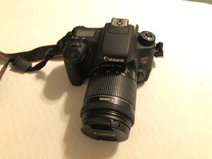 Canon T6s with 2 Lenses & Backpack for Sale in Gilbert, AZ