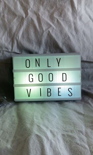 """Small 4x6"""" light up sign for Sale in Clarkston, MI"""