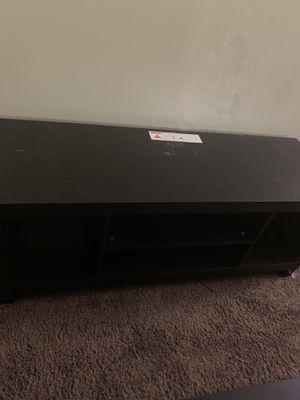 Black tv stand for Sale in Rock Island, IL