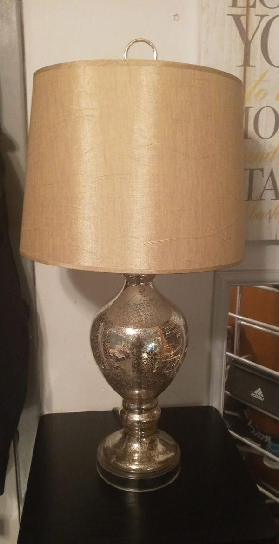 Beautiful Mercury Glass lamp