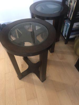 2 Ashley furniture Marion end tables for Sale in Arlington, VA