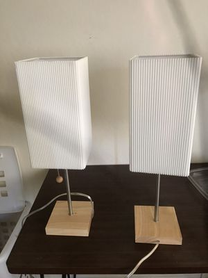 End table lamps for Sale in Santa Clara, CA