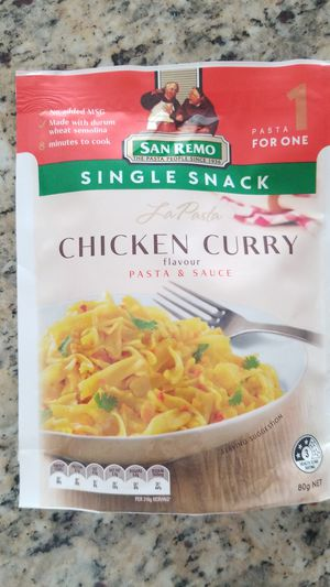 San Remo (AU/NZ) Chicken Curry Pasta for Sale in Calverton, MD
