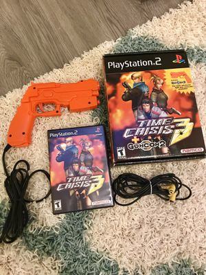 Time Crisis 3 for PS2 - Gun and Game Disc for Sale in Fremont, CA