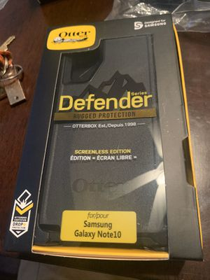 Samsung Galaxy Note10 Otter Box Defender Phone Case for Sale in Mesa, AZ