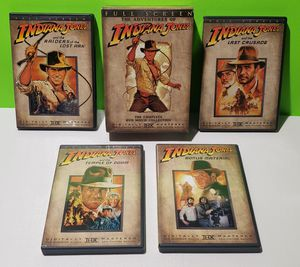 Indiana Jones Complete DVD Collection for Sale in Reinholds, PA