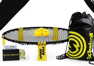New!! Spike ball game, spikeball game, spikeball day and night kit, spikeball game includes 2 glow night balls, 2 regular balls, a nest, drawstring for Sale in Phoenix, AZ
