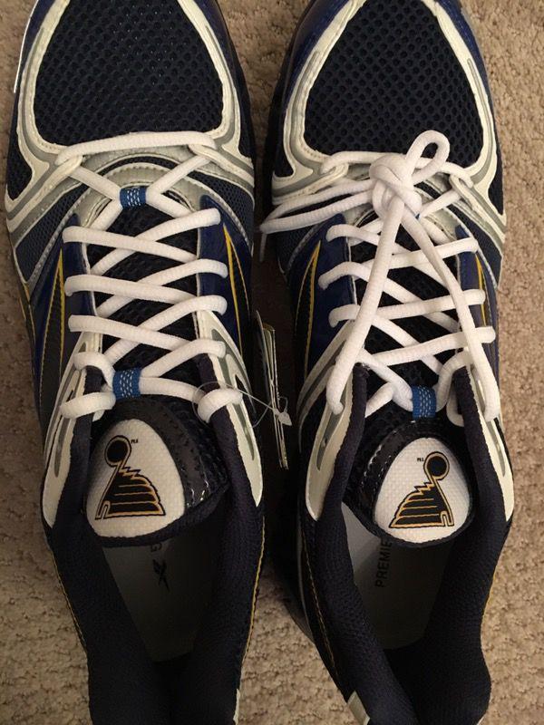 Custom NHL St. Louis Blues Reebok Shoes - men's size 13