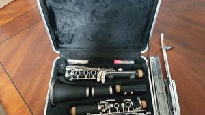 Clarinet and music stand. for Sale in Montesano, WA