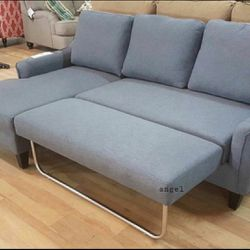 🎁BRAND NEW 🎇Jarreau Gray Sofa Chaise Sleeper for Sale in Laurel,  MD