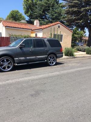"""2003 Ford Expedition """"24"""" inch rims for Sale in Santa Monica, CA"""