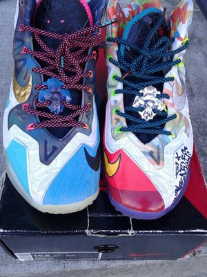 """Size 10.5 Lebron 11 """" What the """" 8-8.5/10 condition for Sale in Lorton, VA"""