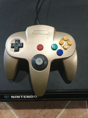 N64 Controller Gold! for Sale in Springfield, VA