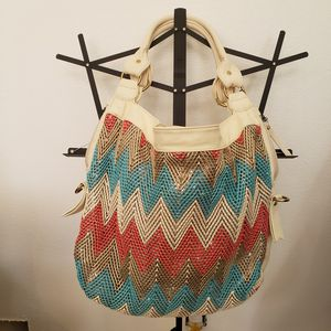 Big Buddha Chevron Sequin Handbag for Sale in Post Falls, ID