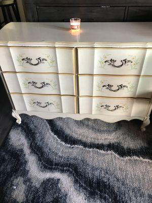 Antique dresser hand painted floral for Sale in Oceanside, CA
