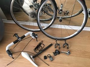 Shimano bike group set Make reasonable offer. for Sale in Traverse City, MI