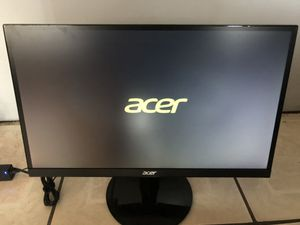 """Acer 23"""" thin wide screen computer monitor for Sale in Homestead, FL"""
