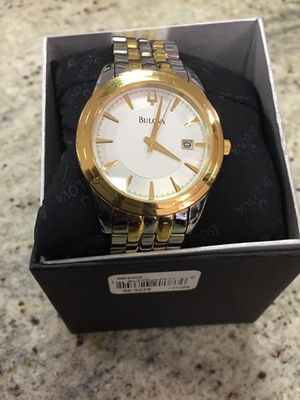 Bulova - silver x gold mint condition for Sale in Gaithersburg, MD