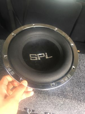 1 10 SPL - Speaker for Sale in Columbus, OH