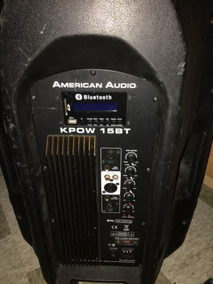 American Audio....KPOW 15BT bluetooth speaker... for Sale in Federal Way, WA