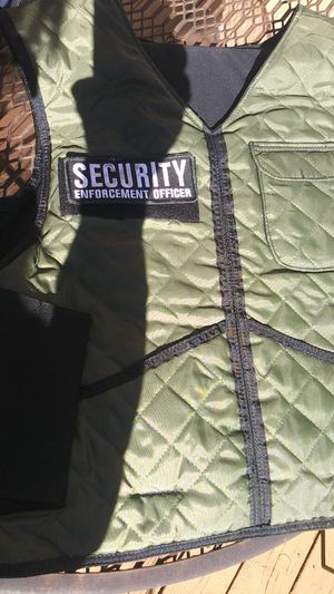 Vest with bullet reflection pads for Sale in Spring Branch, TX