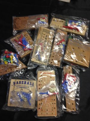 Games - Wooden Peg Puzzles (assorted) for Sale in Jackson, NJ