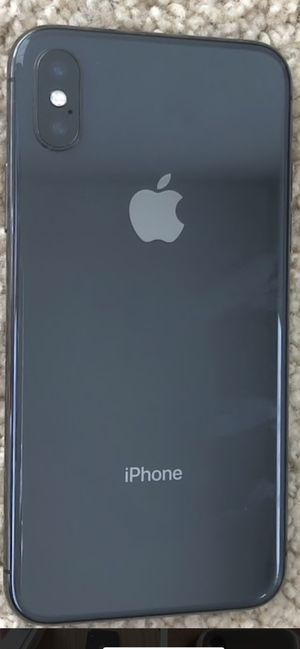 IPhone X 256 GB Black (AT&T) for Sale in Gilbert, AZ