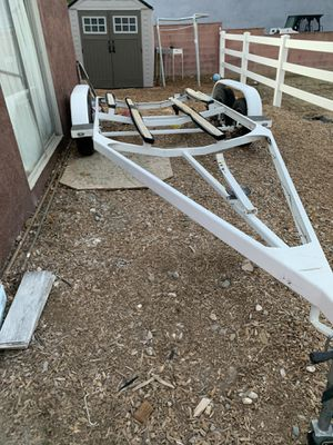 Spectra boat trailer I used it for my 1972 boat I lost it in lake mead for Sale in Los Angeles, CA