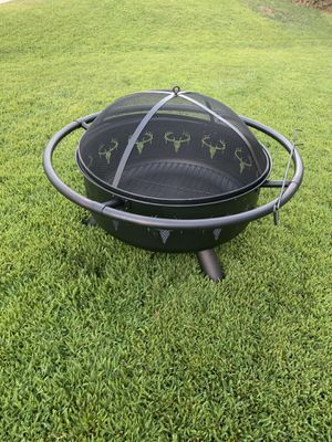 Fire pit big $60 PRICE IS FIRM BRAND NEW for Sale in San Bernardino, CA