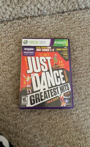 Just Dance Greatest hits xbox 360 for Sale in Hayward, CA