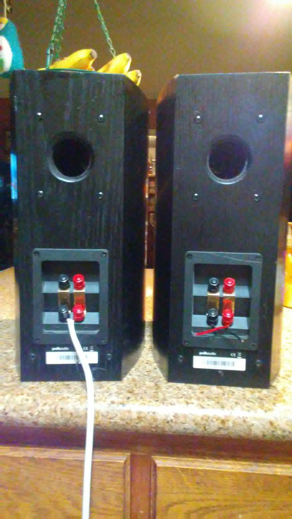 *POLK AUDIO BOOK SHELF SPEAKER'S (RTi A3) AWESOME SOUND!! MAKE OFFER!! SERIOUS BUYER'S PLEASE!!