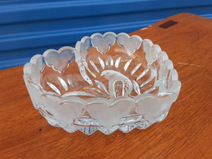 Lead crystal heart candy dish for Sale in Tulsa, OK