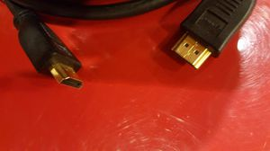 HDMI cable 10 feet cord for HD T.V DVD, Video Game connection, home entertainment system. for Sale in Long Beach, CA