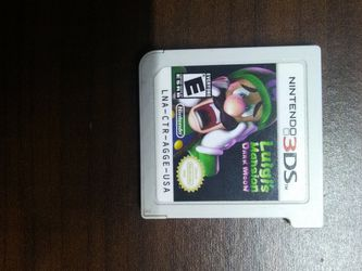 Luigi's Mansion Dark Moon 3Ds Game for Sale in California City,  CA