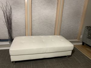 White leather couches for Sale in Vancouver, WA