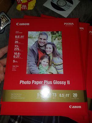 Canon Pixma Photo Paper PP-201 for Sale in Buffalo, NY